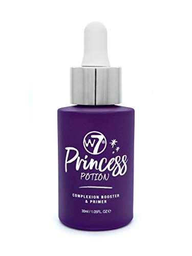 W7 - W7 | Face Primer | Princess Potion Face Primer Drops | Hydrating, Lightweight and Long-Lasting | Perfect For All Skin Types