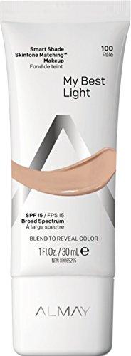 Almay - Almay Smart Shade Anti-Aging Skintone Matching Makeup, Light Medium, Mine