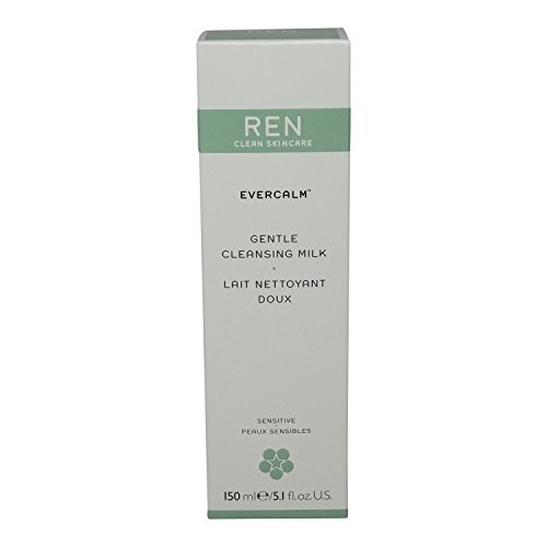 REN - Ren Evercalm Gentle Cleansing Milk, 5.1 Fl Oz