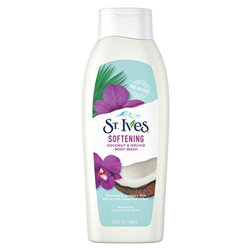 St. Ives - St. Ives Soft and Silky Body Wash, Coconut and Orchid 24 Oz (Pack of 3)