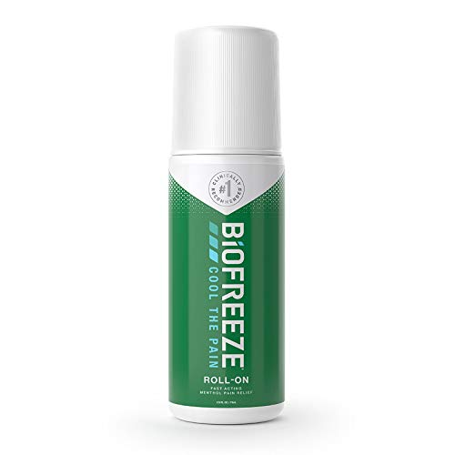 Biofreeze - Biofreeze Pain Relief Gel, 2.5 oz. Roll-On, Fast Acting, Long Lasting, & Powerful Topical Pain Reliever
