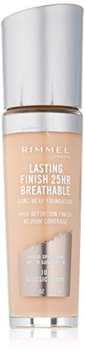 Rimmel - Rimmel Lasting Finish Breathable Foundation, Classic Ivory, 1 Fluid Ounce