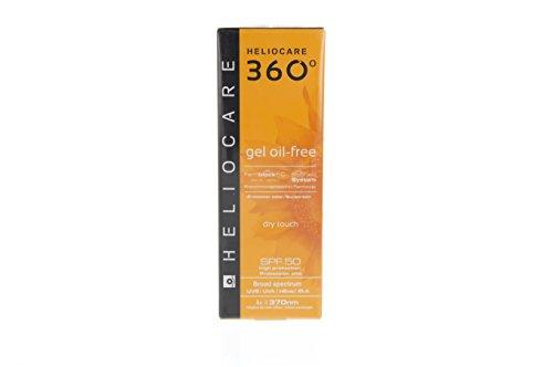 Heliocare Heliocare 360° Gel Oil-free SPF 50 UVA, UVB Sunscreen 50ml