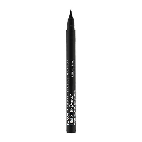 NYX - NYX PROFESSIONAL MAKEUP That's The Point Eyeliner, Hella Fine, 0.03 Ounce