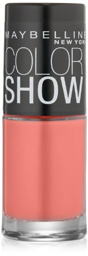 Maybelline - Maybelline New York Color Show Nail Lacquer, Coral Crush, 0.23 Fluid Ounce