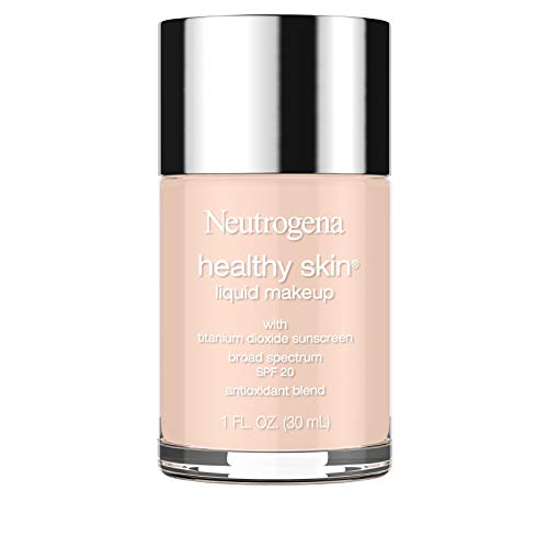 Neutrogena - Neutrogena Healthy Skin Liquid Makeup Foundation, Broad Spectrum Spf 20, 20 Natural Ivory, 1 Oz.