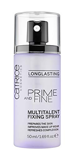 Catrice - Catrice   Prime and Fine Multitalent Fixing Spray - Transparent Fast-Drying Fixing Spray   Vegan
