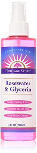 Heritage Store - Heritage Products Rosewater And Glycerin - 8 Fl Oz
