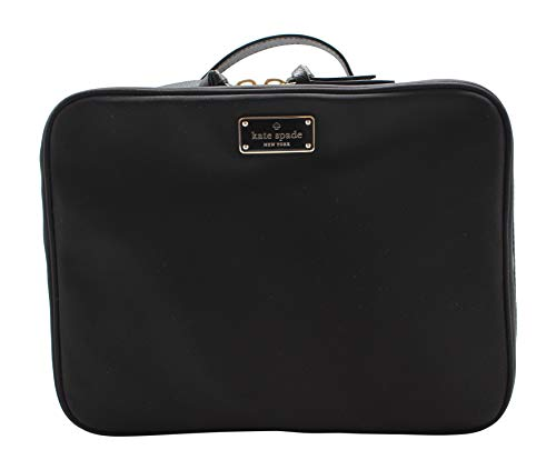 kate spade new york - Kate Spade New York Large Wilson Road Martie Travel Cosmetic Case Bag (Black)