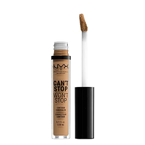 NYX - Nyx Professional Makeup Can't Stop Won't Stop Contour Concealer, Golden, 0.11 Ounce