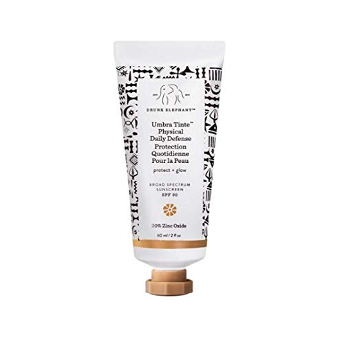 Drunk Elephant - Drunk Elephant Umbra Tinte Physical Daily Defense - Tinted Moisturizer and Broad Spectrum SPF 30 Sunscreen (2 oz)