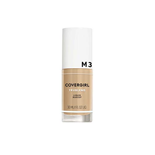 Covergirl - COVERGIRL truBlend Liquid Foundation Makeup Golden Beige M3, 1 oz (packaging may vary)