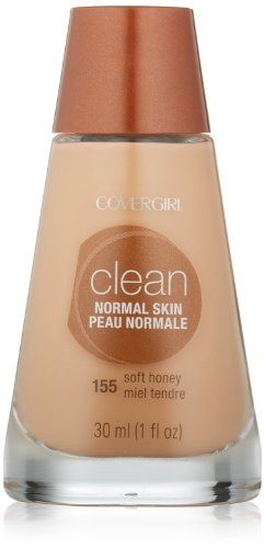 Covergirl - COVERGIRL Clean Makeup Foundation Soft Honey 155, 1 oz (packaging may vary)
