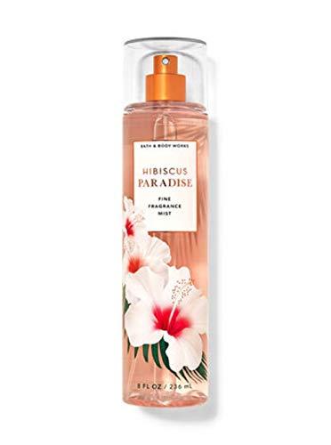 White Barn Bath Body Works - Bath and Body Works Hibiscus Paradise Fine Fragrance Mist 8 Ounce Full Size