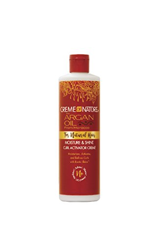 Crème of Nature with Argan - Moisture & Shine Curl Activator Creme