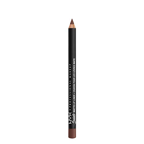NYX - NYX PROFESSIONAL MAKEUP Suede Matte Lip Liner, Leon, 0.035 Ounce