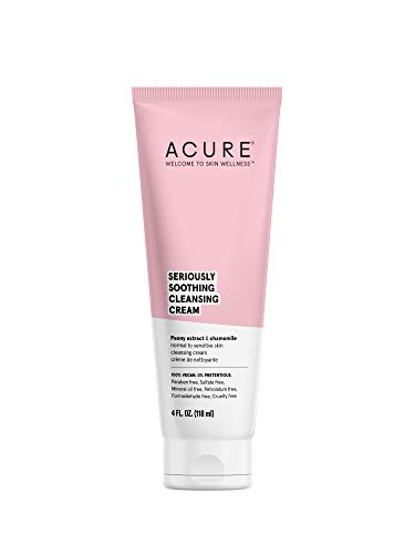 Acure - Acure | Seriously Soothing Cleansing Cream | 4 Fl. Oz. (Packaging May Vary)
