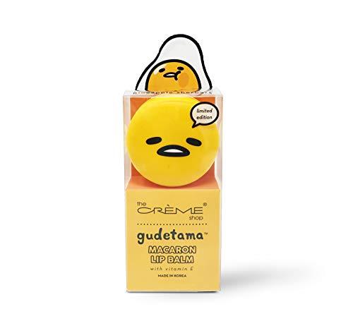 The Creme Shop - Gudetama Lip Balm, Pineapple Sherbert