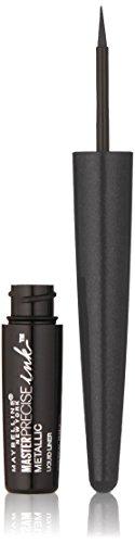 Maybelline New York - Maybelline New York Master Precise Ink Metallic Liquid Liner, Black Comet, 0.06 Fluid Ounce