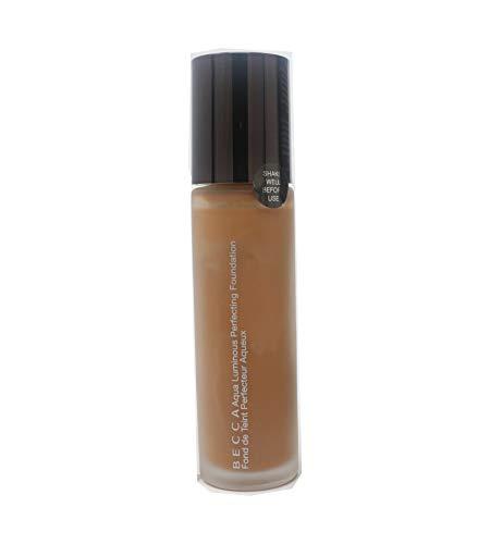 Becca Cosmetics - BECCA Aqua Luminous Perfecting Foundation- Warm Honey, 1 Ounce