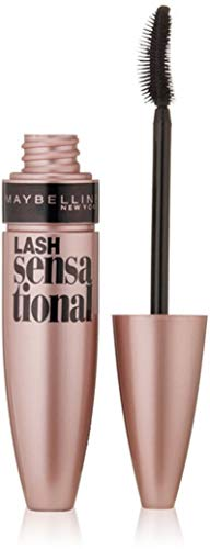 Maybelline New York - Maybelline Makeup Lash Sensational Washable Mascara, Very Black Volumizing Mascara, 0.32 fl oz