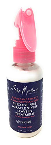 Sheamoisture - Sheamoisture, Treatment Leave In Silicone Free Miracle, 3.4 Fl Oz
