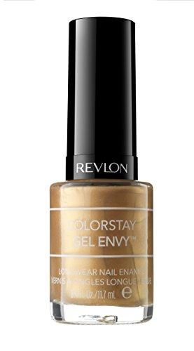 Revlon - Revlon ColorStay Gel Envy Longwear Nail Enamel, Blackjack, 0.4 Fl Oz (1 Count)