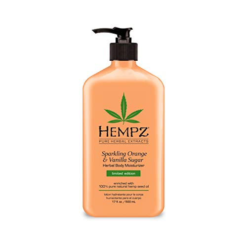 Hempz - Hempz Sparkling Orange & Vanilla Sugar Herbal Body Moisturizer, 17 Ounce