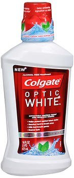 Colgate Optic White - Colgate Mw Optic Whte 16z Size 16z Colgate Mw Optic Whte 16z
