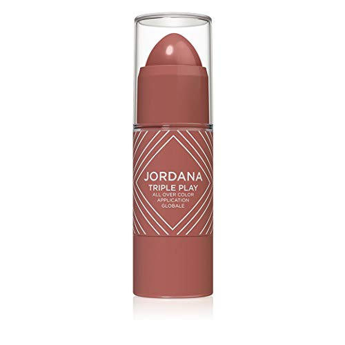 Jordana Cosmetics - Triple Play All Over Color, Spicy Rose