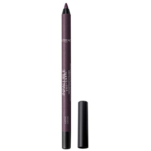L'Oreal Paris - L'Oreal Paris Makeup Infallible Pro-Last Pencil Eyeliner, Waterproof & Smudge-Resistant, Glides on Easily to Create any Look, Aubergine, 0.042 oz.