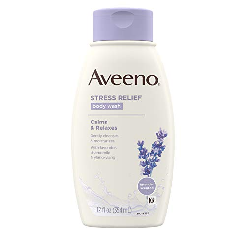 Aveeno - Stress Relief Body Wash with Soothing Oat, Lavender, Chamomile & Ylang-Ylang Essential Oils