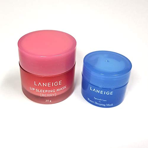 Laneige - Lip Sleeping Mask + Water Sleeping Mask