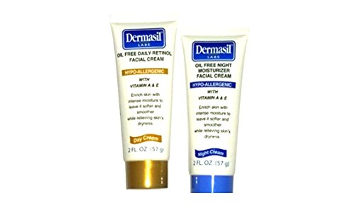 Dermasil - Dermasil Day Oil Free with Retinol Day & Oil Free Night 2oz Ea