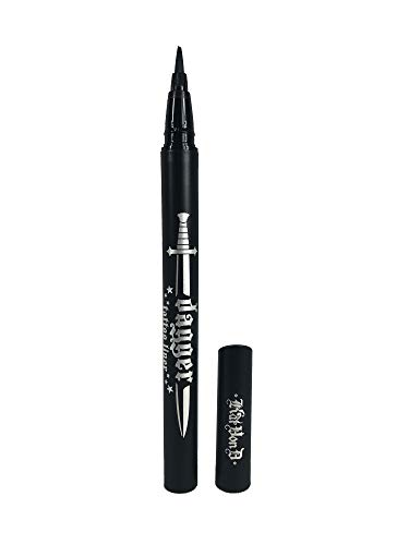Kát Von D - Kat Von D Dagger Tattoo Liner Waterproof Liquid Eyeliner Trooper Black