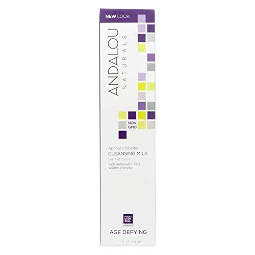 Andalou Naturals - Apricot Probiotic Cleansing Milk