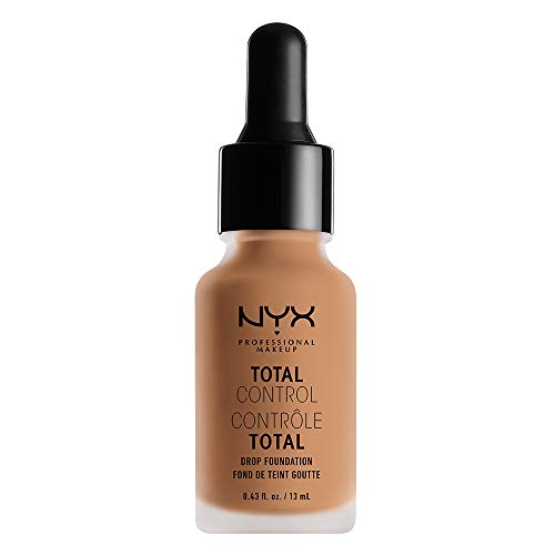 NYX - NYX PROFESSIONAL MAKEUP Total Control Drop Foundation, Soft Beige, 0.43 Fluid Ounce