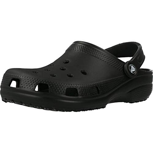 Crocs - Crocs Unisex Classic Clog, Black, 7 US Men / 9 US Women