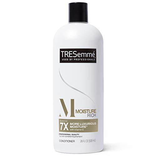 TRESEMME SH-CD TRESemmé Conditioner for Dry Hair Moisture Rich Professional Quality Salon-Healthy Look and Shine Moisture Rich Formulated with Vitamin E and Biotin 28 oz