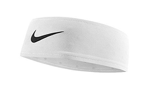 Nike - NIKE Fury Headband (One Size Fits Most, White/Black)