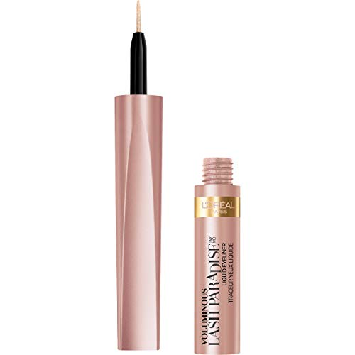 L'Oreal Paris - L'Oreal Paris Cosmetics Voluminous Lash Paradise Liquid Eyeliner, Rose Gold, 0.05 Fluid Ounce