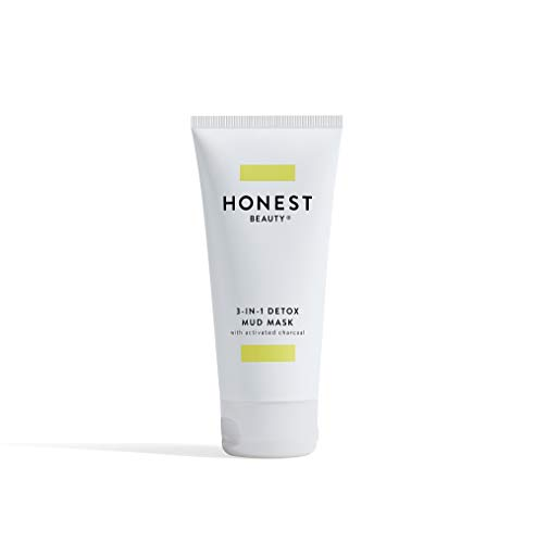 Honest Beauty - Honest Beauty 3-in-1 Detox Mud Mask, 3.0 Fluid Ounce