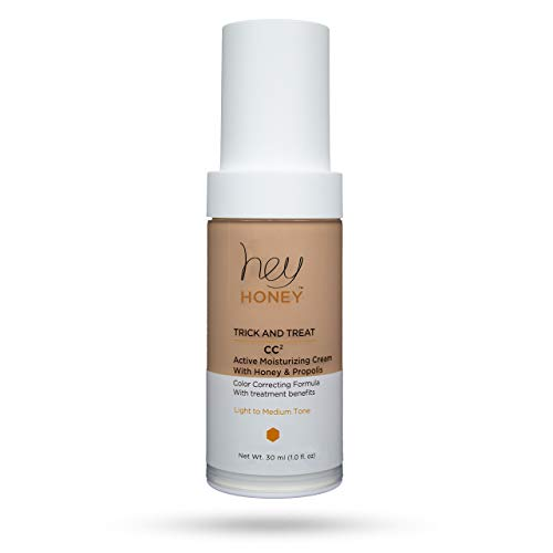 Hey Honey - Active Propolis Color Correcting Cream - TRICK AND TREAT CC² - Hey Honey Skin Care (Light to Medium)