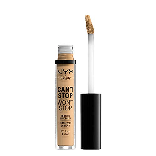 NYX - NYX PROFESSIONAL MAKEUP Can't Stop Won't Stop Contour Concealer, True Beige, 0.11 Ounce