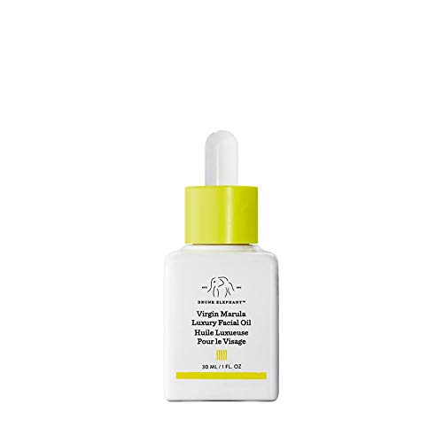 Drunk Elephant - Drunk Elephant Virgin Marula Luxury Facial Oil - Gluten-Free and Vegan Anti-Aging Skin Care and Face Moisturizer (30ml/1 fl oz)