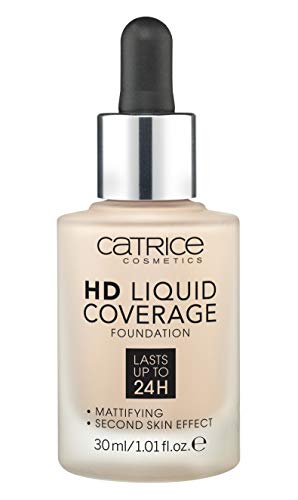 Catrice - Catrice | HD Liquid Coverage Foundation | High & Natural Coverage | Vegan & Cruelty Free