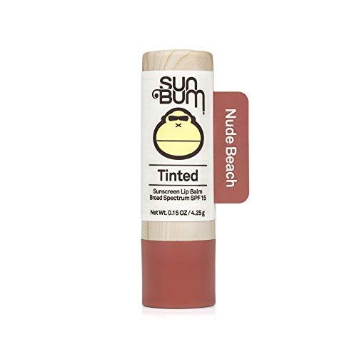 Sun Bum - Tinted Lip Balm, Nude Beach, SPF 15