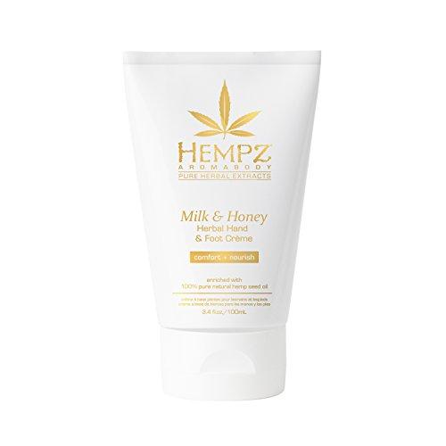 Hempz - Hempz Milk and Honey Herbal Hand and Foot Creme, 3.4 Ounce