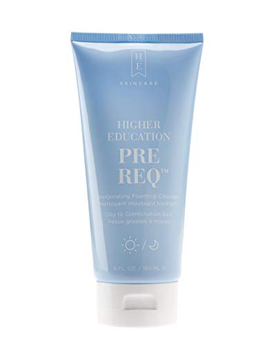 Higher Education - Higher Education Skincare: Pre-Req Foaming Cleanser With Tea Tree Oil - Daily Facial Cleanser & Gentle Exfoliator - 6 fl. oz.