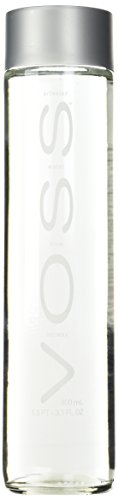 Voss - Voss Artesian Water (Still) Glass Bottles, 27.1-Ounce (Pack of 6)